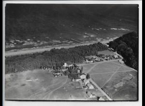 ZZ-3998/ Thiessow auf Rügen Foto seltenes Luftbild 1939 18 x 13 cm