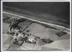 ZZ-5253/ Meschendorf bei Rerik Foto seltenes Luftbild 18 x 13 cm 1939