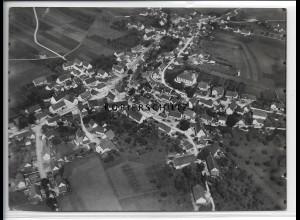 ZZ-3965/ Schwenningen Foto seltenes Luftbild ca.1938 18 x 13 cm
