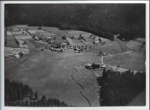 ZZ-3905/ Altschönau b. Neuschönau Foto seltenes Luftbild 1938 18 x 13 cm