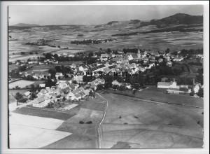 ZZ-3908 Kemnath Foto seltenes Luftbild 1936 18 x 13 cm
