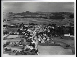 ZZ-3909/ Kemnath Foto seltenes Luftbild 1936 18 x 13 cm
