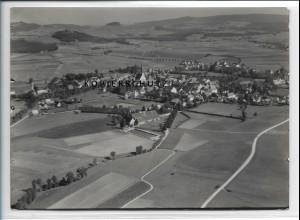 ZZ-3910/ Kemnath Foto seltenes Luftbild 1936 18 x 13 cm