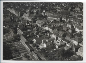 ZZ-3912/ Bayreuth Foto seltenes Luftbild 1936 18 x 13 cm