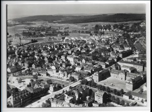 ZZ-3913/ Bayreuth Foto seltenes Luftbild 1936 18 x 13 cm