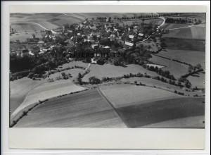 ZZ-3914/ St. Johannis b. Bayreuth Foto seltenes Luftbild ca. 1936 18 x 13 cm