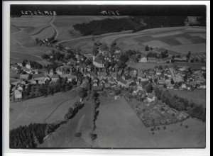 ZZ-3919/ Presseck Foto seltenes Luftbild 1939 18 x 13 cm