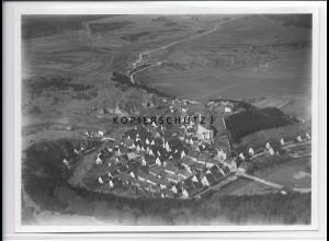 ZZ-3924/ Veringenstadt Foto seltenes Luftbild 1934 18 x 13 cm