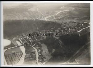 ZZ-3936/ Veringenstadt Foto seltenes Luftbild 1937 16,5 x 12 cm