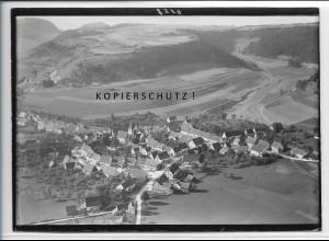 ZZ-3954/ Tieringen b. Meßstetten Foto seltenes Luftbild 1935 18 x 13 cm