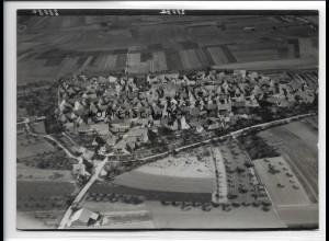 ZZ-4475/ Abtswind Foto seltenes Luftbild 1938 18 x 13 cm