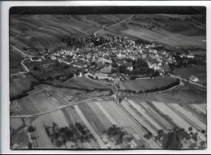 ZZ-4477/ Bundorf Foto seltenes Luftbild ca.1938 18 x 13 cm