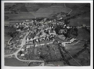 ZZ-4478/ Bundorf Foto seltenes Luftbild ca.1938 18 x 13 cm