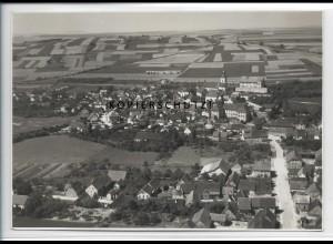 ZZ-4485/ Arnstein Unterfr. Foto seltenes Luftbild ca.1938 17 x 12 cm