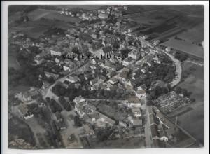 ZZ-4487/ Hofheim Unterfranken Foto seltenes Luftbild ca.1938 18 x 13 cm