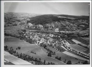 ZZ-4490/ Binsfeld bei Arnstein Foto seltenes Luftbild ca.1938 18 x 13 cm