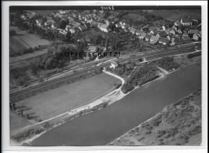 ZZ-4492/ Wülflingen bei Haßfurt Foto seltenes Luftbild 1937 18 x 13 cm