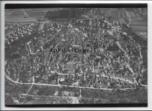 ZZ-4496/ Bad Windsheim Foto seltenes Luftbild 1938 18 x 13 cm