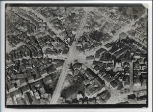 ZZ-5224/ Cannstatt Foto seltenes Luftbild 18 x 13 cm ca.1938