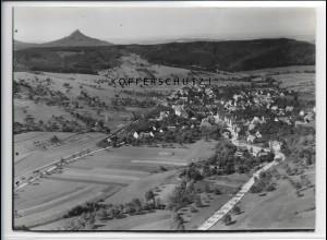 ZZ-5204/ Jungingen Foto seltenes Luftbild 18 x 13 cm 1936