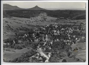 ZZ-5205/ Jungingen Foto seltenes Luftbild 18 x 13 cm 1936