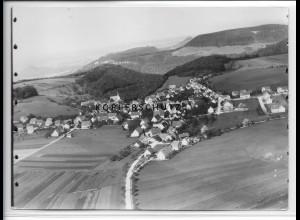 ZZ-5206/ Holzelfingen b. Lichtenstein Foto seltenes Luftbild 18 x 13 cm 1936