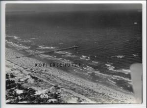 ZZ-4045/ Baabe Rügen Foto seltenes Luftbild 1939 18 x 13 cm