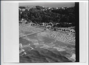 ZZ-5118/ Göhren auf Rügen Foto seltenes Luftbild ca.1938 18 x 13 cm