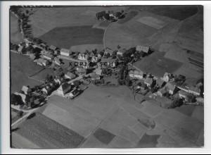 ZZ-5115/ Bobengrün bei Bad Steben Foto seltenes Luftbild 1939 18 x 13 cm