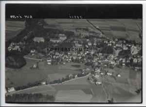ZZ-5112/ Bad Steben Foto seltenes Luftbild 1939 18 x 13 cm