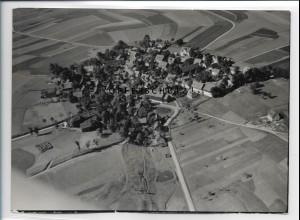 ZZ-5116/ Carlsgrün bei Bad Steben Foto seltenes Luftbild 1939 18 x 13 cm