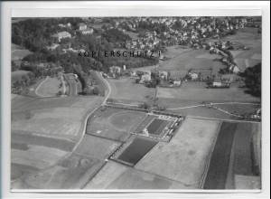 ZZ-5113/ Bad Steben Foto seltenes Luftbild 1939 18 x 13 cm