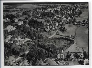 ZZ-5111/ Bad Steben Foto seltenes Luftbild 1939 18 x 13 cm