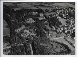ZZ-5114/ Bad Steben Foto seltenes Luftbild 1939 18 x 13 cm