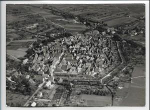ZZ-4328/ Mainbernheim b. Kitzingen Foto seltenes Luftbild 1937 18 x 13 cm