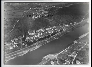 ZZ-4329/ Rothenfels am Main Foto seltenes Luftbild 1937 18 x 13 cm