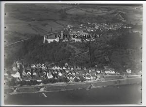 ZZ-4330/ Rothenfels am Main Foto seltenes Luftbild 1937 18 x 13 cm