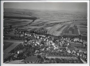 ZZ-4331/ Theilheim Foto seltenes Luftbild ca.1938 18 x 13 cm