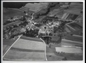 ZZ-4381/ Schönbrunn b. Allersberg Foto seltenes Luftbild 1938 18 x 13 cm