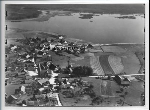 ZZ-4081/ Neubäu bei Roding Foto seltenes Luftbild ca. 1938 18 x 13 cm