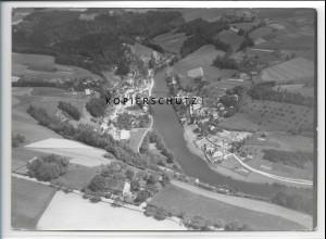 ZZ-5266/ Hals bei Passau Foto seltenes Luftbild 18 x 13 cm 1938
