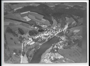 ZZ-5265/ Hals bei Passau Foto seltenes Luftbild 18 x 13 cm 1938