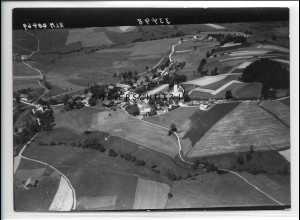 ZZ-4203/ Karlsbach bei Waldkirchen Foto seltenes Luftbild 1938 18 x 13 cm