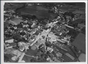 ZZ-4084/ Freyung Foto seltenes Luftbild 1938 18 x 13 cm
