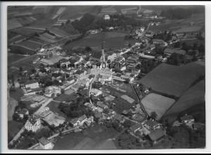 ZZ-4085/ Freyung Foto seltenes Luftbild 1938 18 x 13 cm