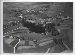 ZZ-4207/ Freyung Foto seltenes Luftbild 1938 18 x 13 cm