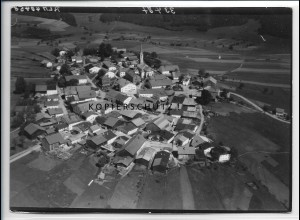 ZZ-4209/ Kreuzberg - Freyung Foto seltenes Luftbild 1938 18 x 13 cm