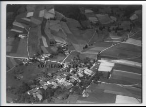 ZZ-4210/ Kühbach - Ringelai Foto seltenes Luftbild 1938 18 x 13 cm