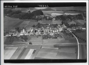 ZZ-5267/ Malching Foto seltenes Luftbild 18 x 13 cm 1938