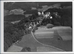 ZZ-4211/ Englburg bei Tittling Foto seltenes Luftbild 1938 18 x 13 cm